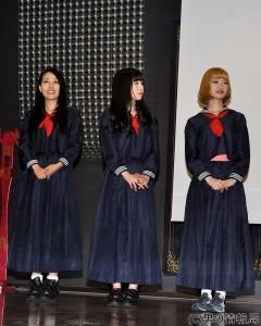 仮面女子映画シリーズ始動!メンバーがオラオラ口調で挨拶